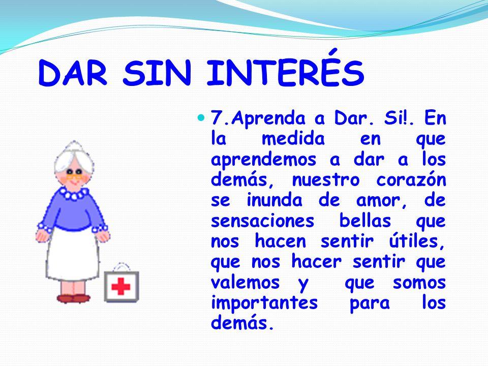DAR SIN INTERÉS 7.Aprenda a Dar.Si!.