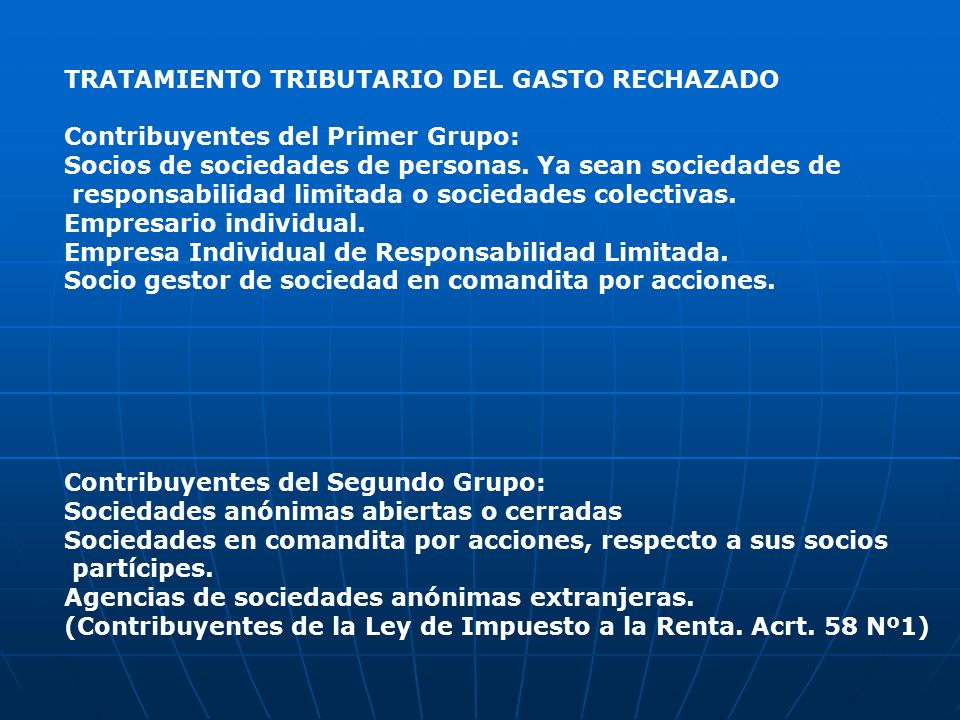 gasto deducible en impuesto sociedad: