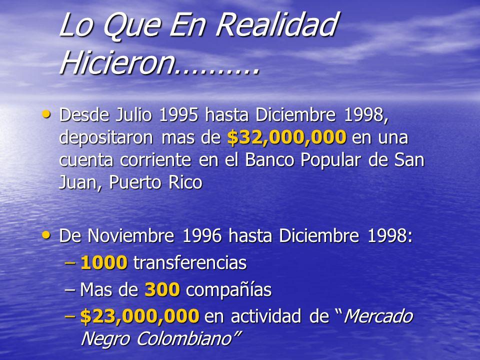 """Banca Oriental De Puerto Rico:La presentación """"Banco Popular de Puerto Rico El Banco firmó un"""