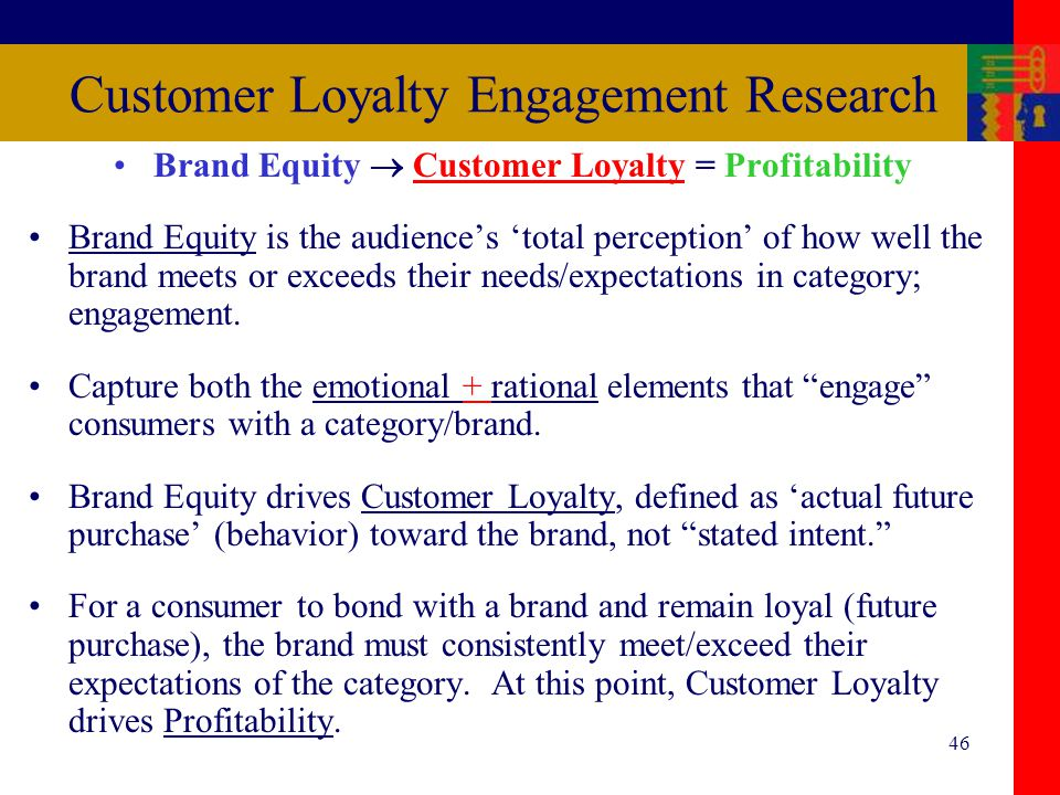 what drives customer loyalty and profitability What really drives customer loyalty customer loyalty is at i suspect the reasons for variability across providers in what drives their customer loyalty.