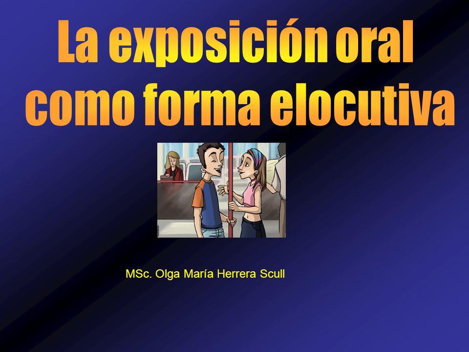 MSc. Olga María Herrera Scull