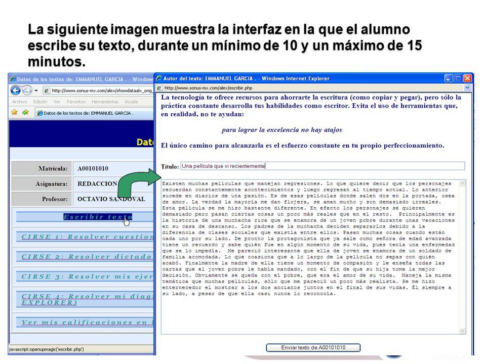 AUTOMATIZACIÓN Y PERSONALIZACIÓN EN LA ENSEÑANZA DE LA ESCRITURA ...