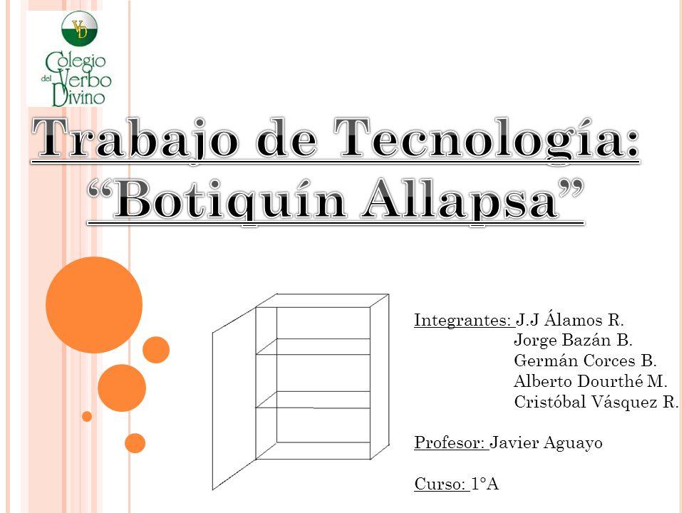 "La presentaci�n ""Integrantes: J.J �lamos R. Jorge Baz�n B. Germ�n ..."