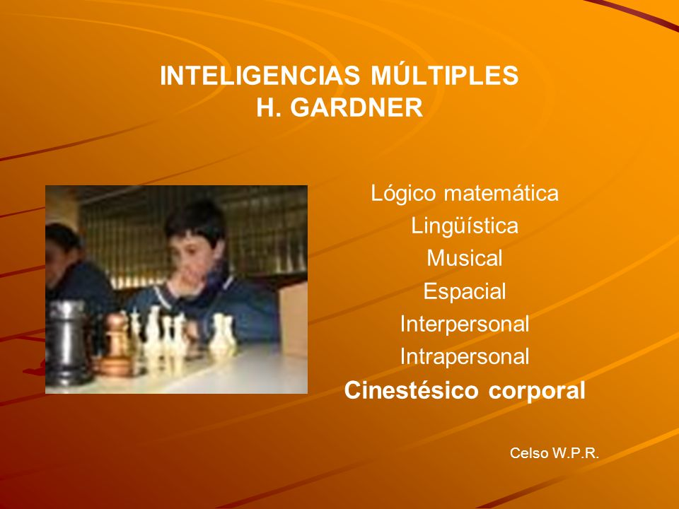 INTELIGENCIAS MÚLTIPLES H.