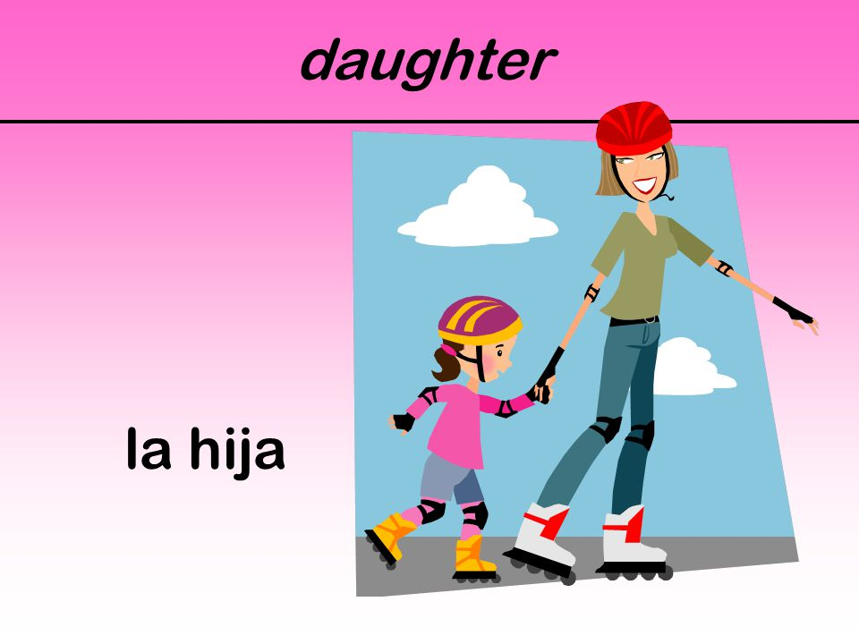 daughter la hija