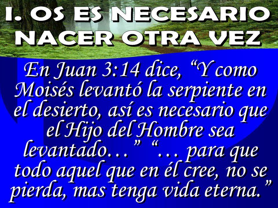 Resultado de imagen para JUAN 3:14