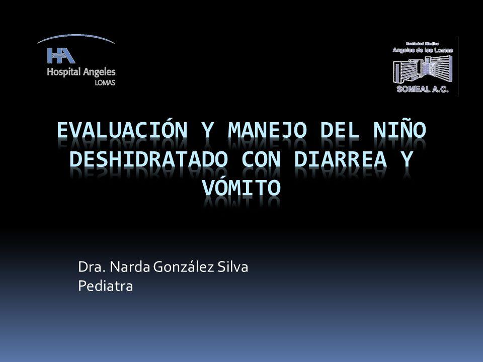Dra. Narda González Silva Pediatra