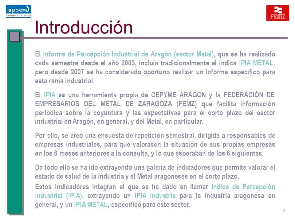 1 Informe de Percepción Industrial de Aragón Sector Metal IPIA 1 er ...