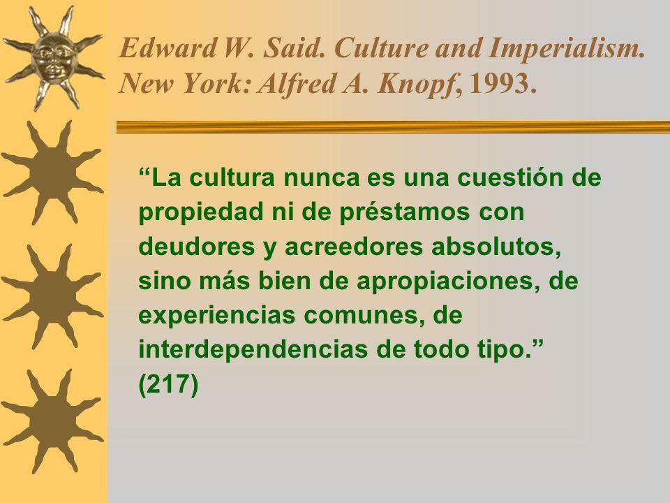 culture and imperialism Culture and imperialism 1 culture and imperialism edward w said vintage books a division ofrandom house, inc new york 2.