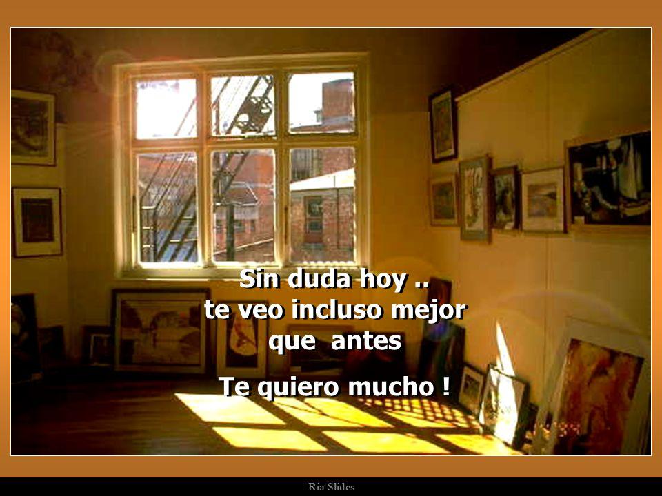 Ria Slides Y la vida es así. Todo depende de la limpieza de la ventana, a través de la cual observamos los hechos. Antes de criticar, quizás sería con