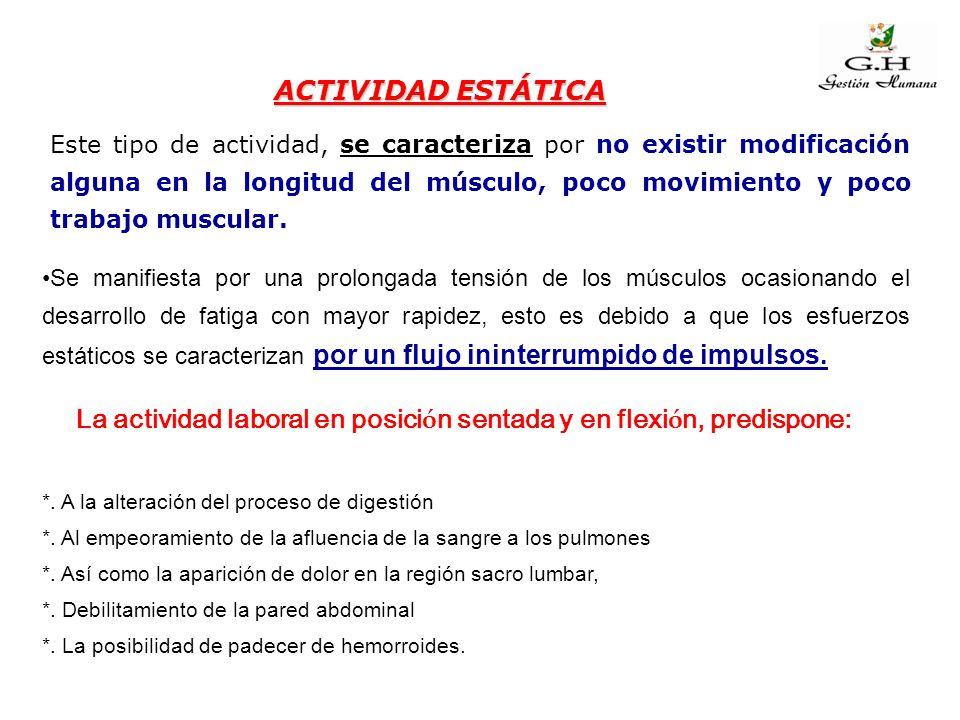 Se evidencia por movimientos de contracción y relajación muscular.