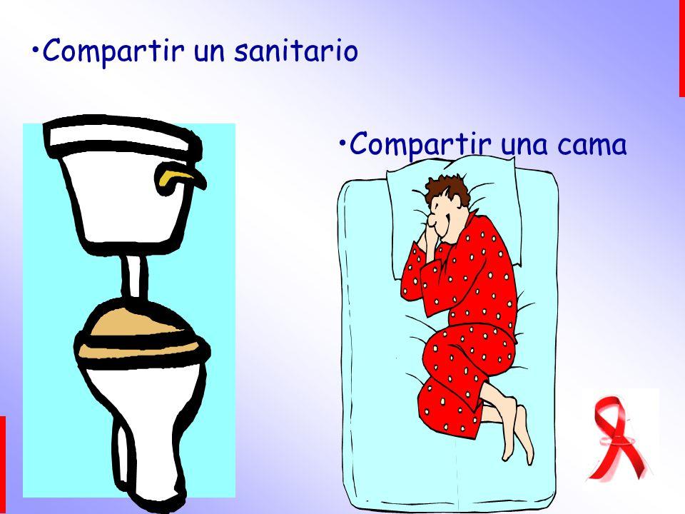 Compartir un sanitario Compartir una cama