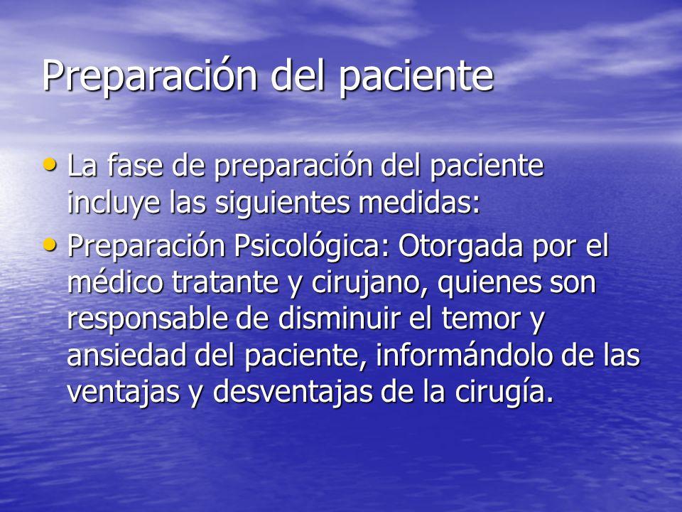 Nada de vía oral hasta recuperar reflejo de deglución y peristaltismo.