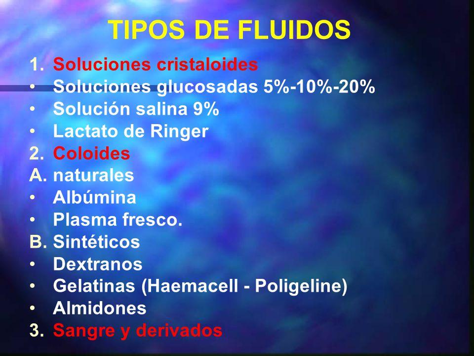 TIPOS DE FLUIDOS 1.