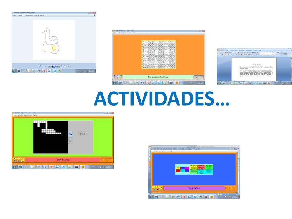 ACTIVIDADES…
