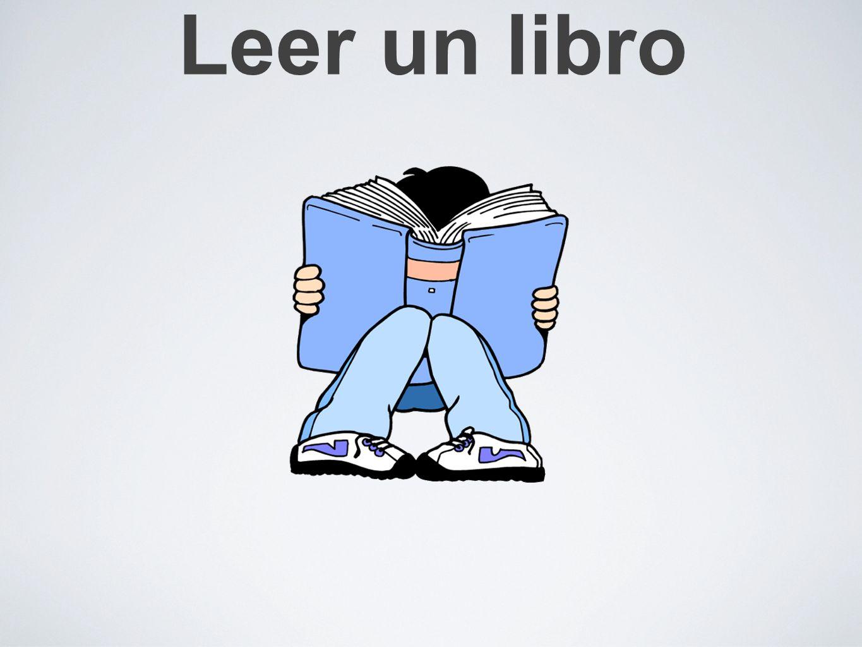 Te gusta leer un libro?