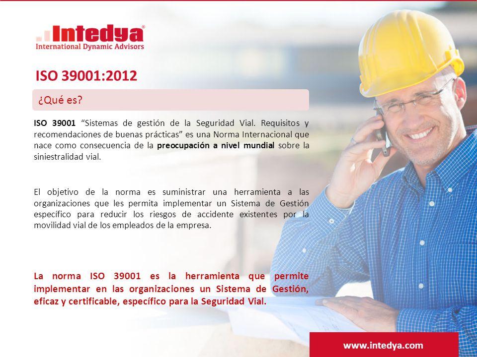 ¿Qué es.ISO 39001 Sistemas de gestión de la Seguridad Vial.