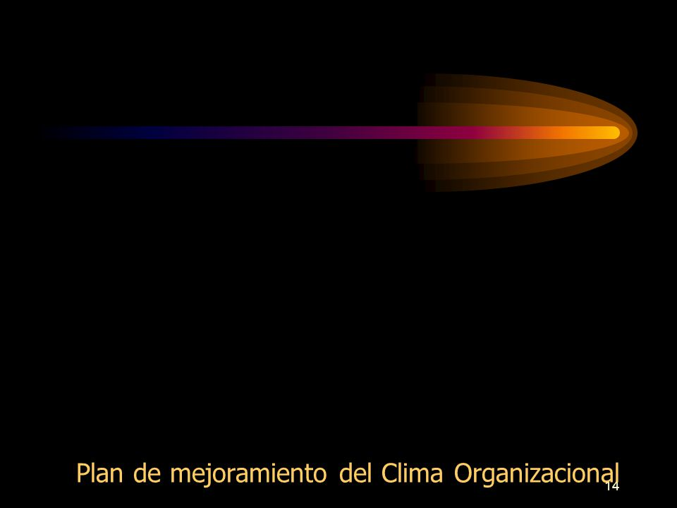 13 Conjunto de planes y programas diseñados para mejorar el desempeño de la Institución y la relación con su entorno Se requiere tener definidas metas y objetivos en el tiempo, las cuales dependen de la misión, visión, filosofía y políticas que establezca la Institución.