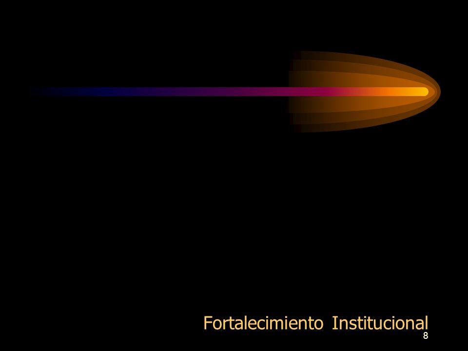 8 Fortalecimiento Institucional