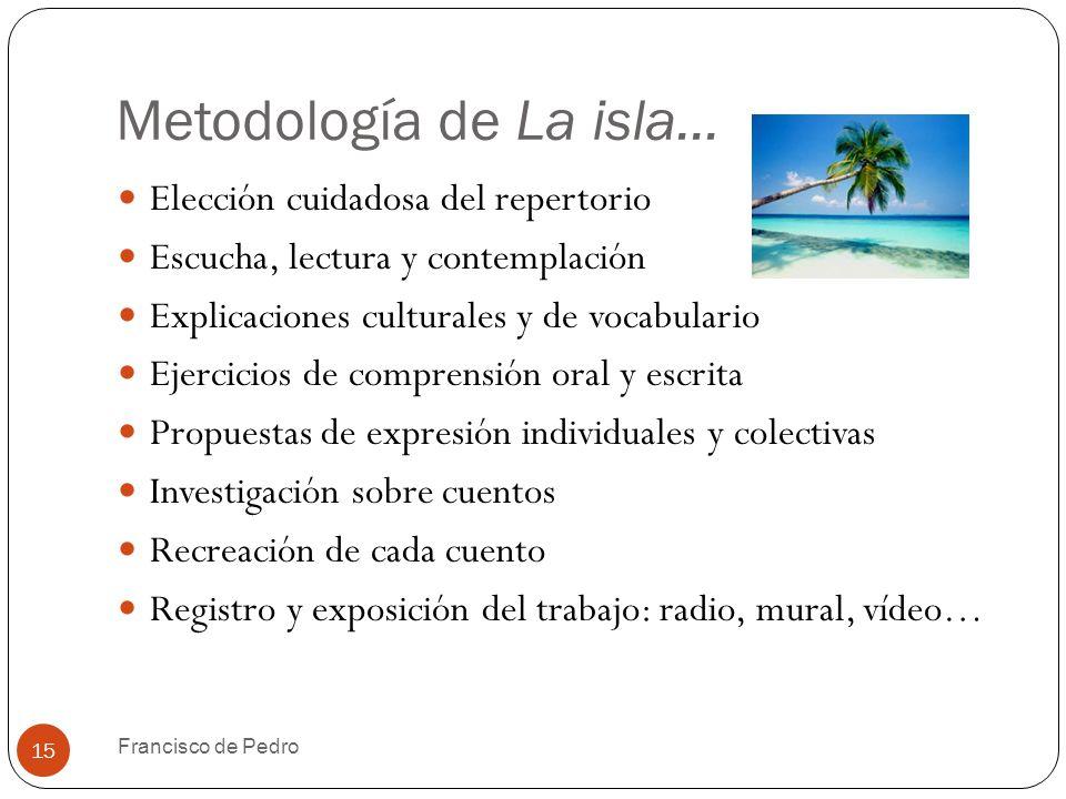 Metodología de La isla...