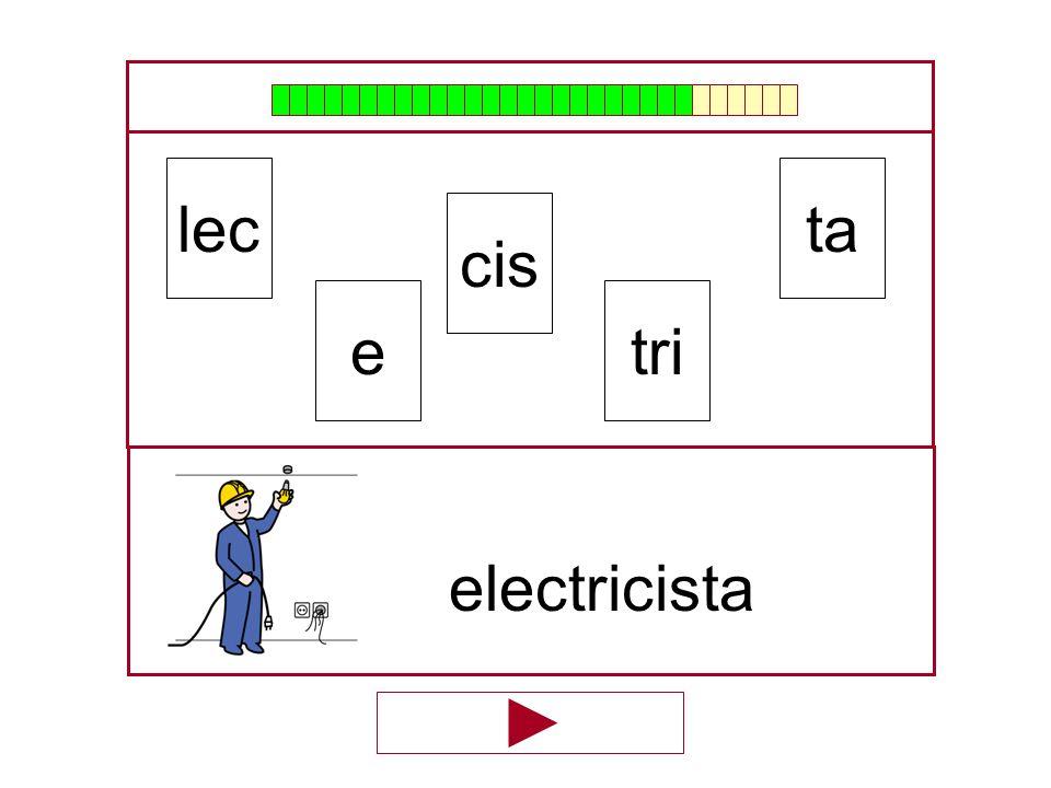 ta cis lec tri …electricis… e