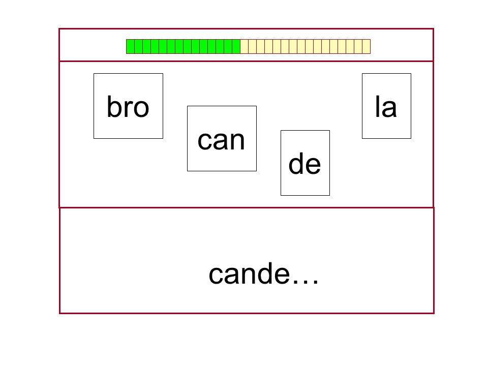 …can… la can bro de