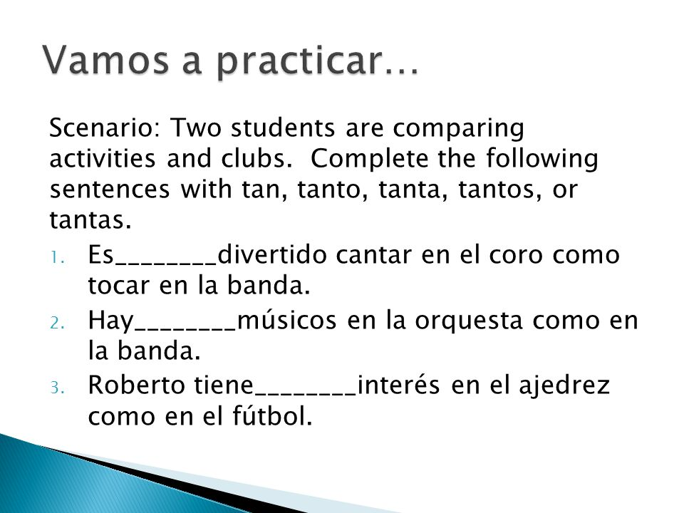 Scenario: Two students are comparing activities and clubs.