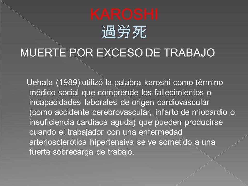 Karoshi definicion