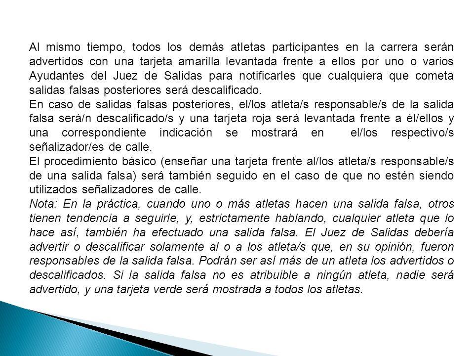 10.4.COLOCACION DE LOS TACOS DE SALIDA.