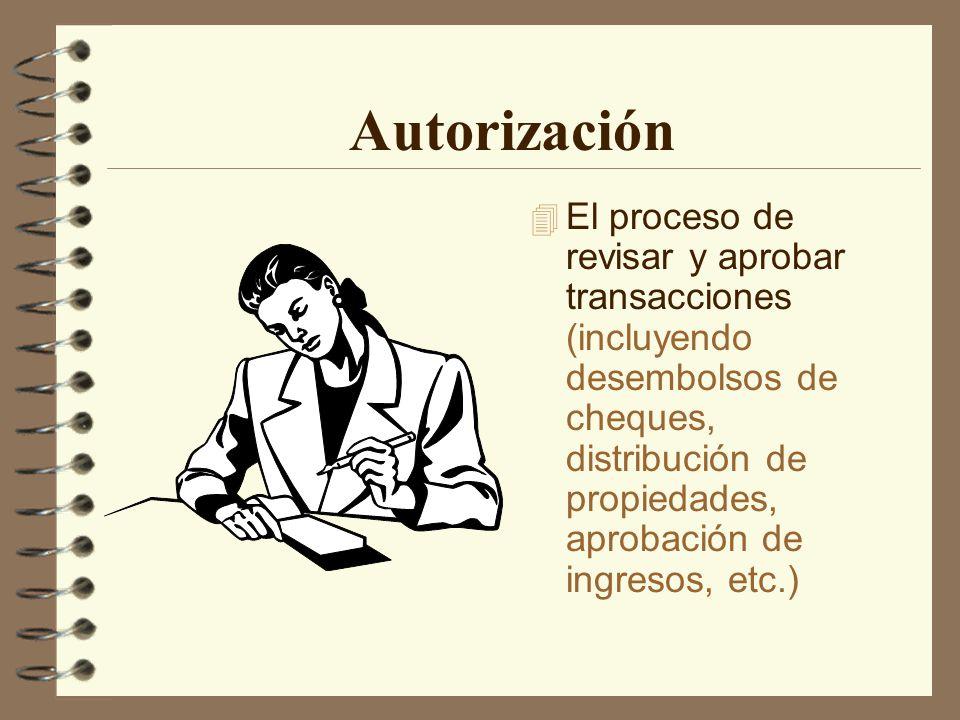 Autorización – Qué significa su firma.