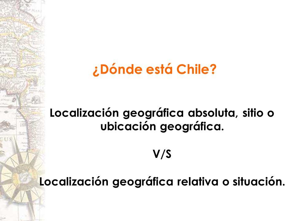 Chile Localizacion Geografica Localización Geográfica