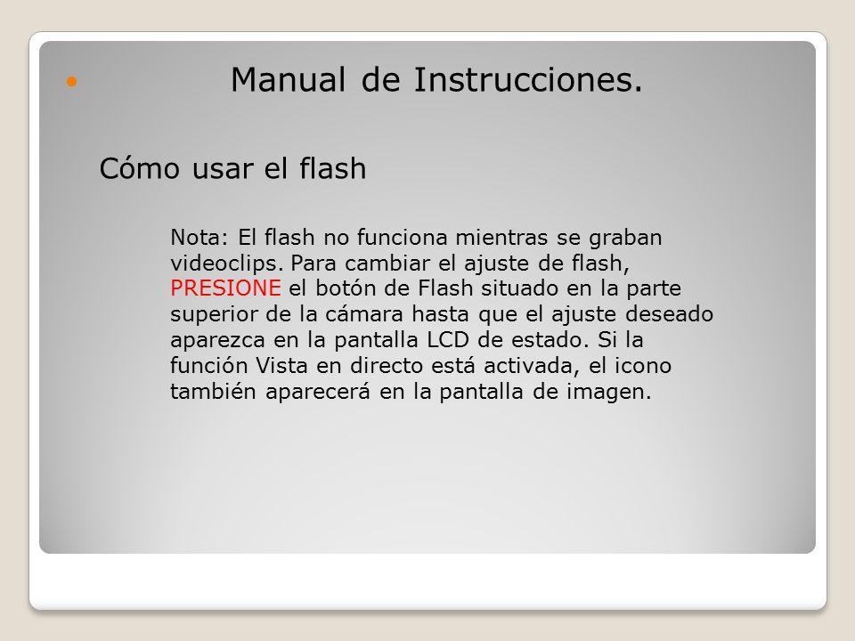Manual de Instrucciones.