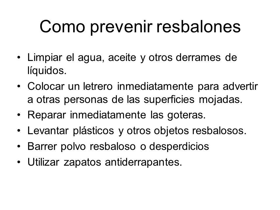 Mantenimiento del Equipo de Protección Personal Inspeccione su equipo de protección personal antes de utilizarlo (ej.