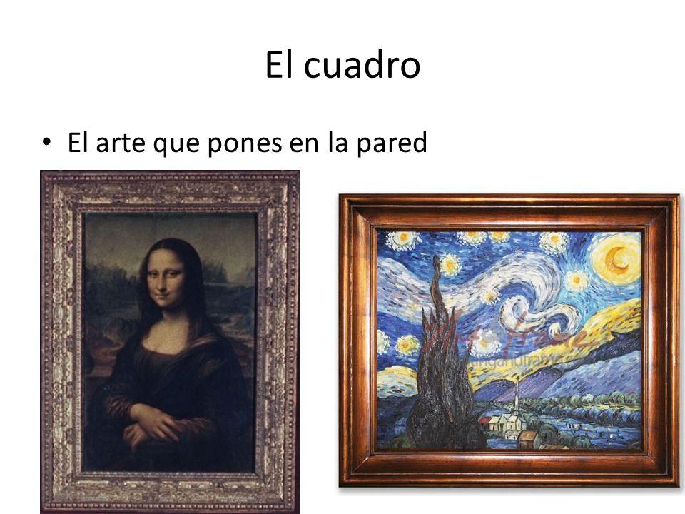 El cuadro El arte que pones en la pared
