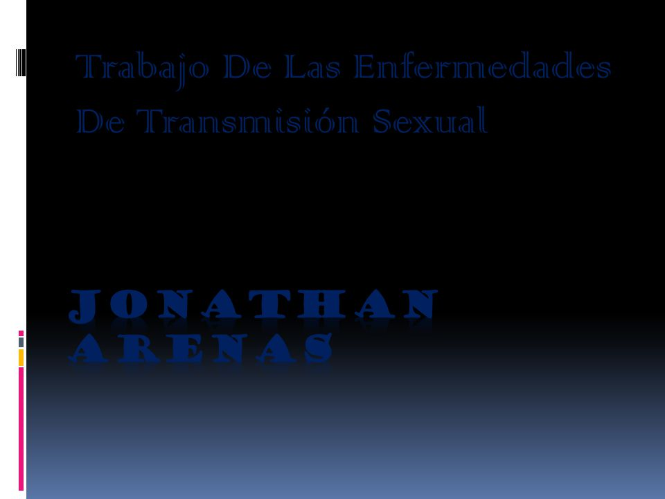 Trabajo De Las Enfermedades De Transmisión Sexual