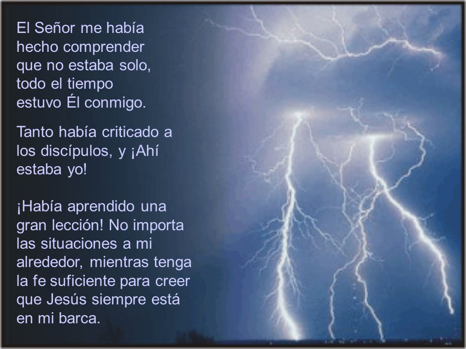 Entonces Jesús se levantó, reprendió y ordenó a la tormenta: ¡Silencio.