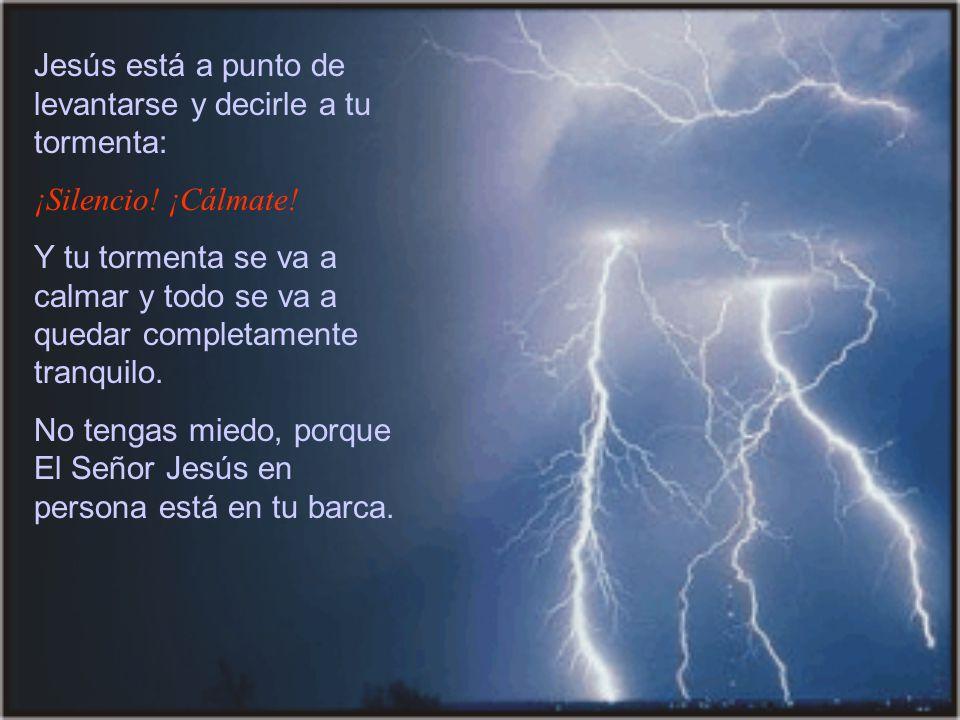 Querido hermano/a: ¿Se desató una fuerte tormenta en tu vida.