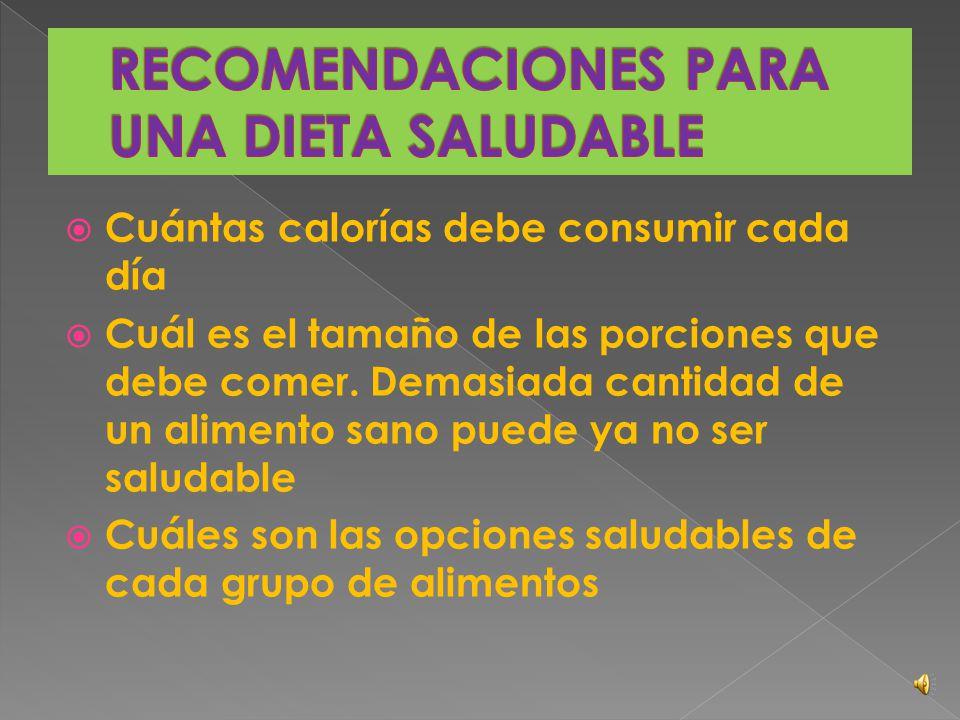 Una dieta mal balanceada puede causar problemas con la conservación de:  Tejidos del cuerpo  Funcionamiento del sistema nervioso y del cerebro  Cre