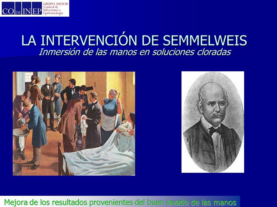 www.codeinep.org Ignaz Philipp Semmelweis (1818-65) Uso de solución clorada para la antisepsia de las manos Mejora de los resultados provenientes del