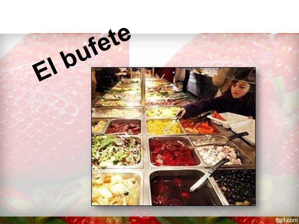 Material; En primer lugar, es necesario velar que los ingredientes para el Buffet se tengan a mano y en las cantidades necesarias.