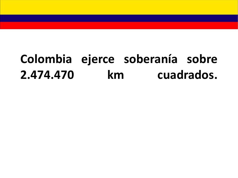 La posición absoluta ó astronómica de Colombia es: - 12º 30' 40 latitud norte en punta gallinas (Guajira).