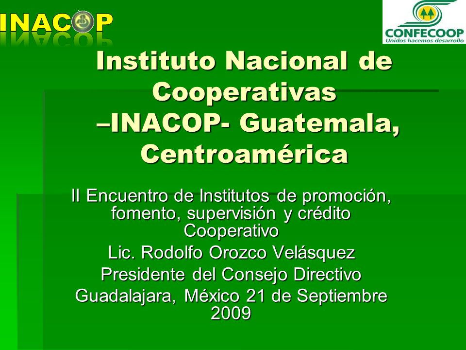instituto nacional credito: