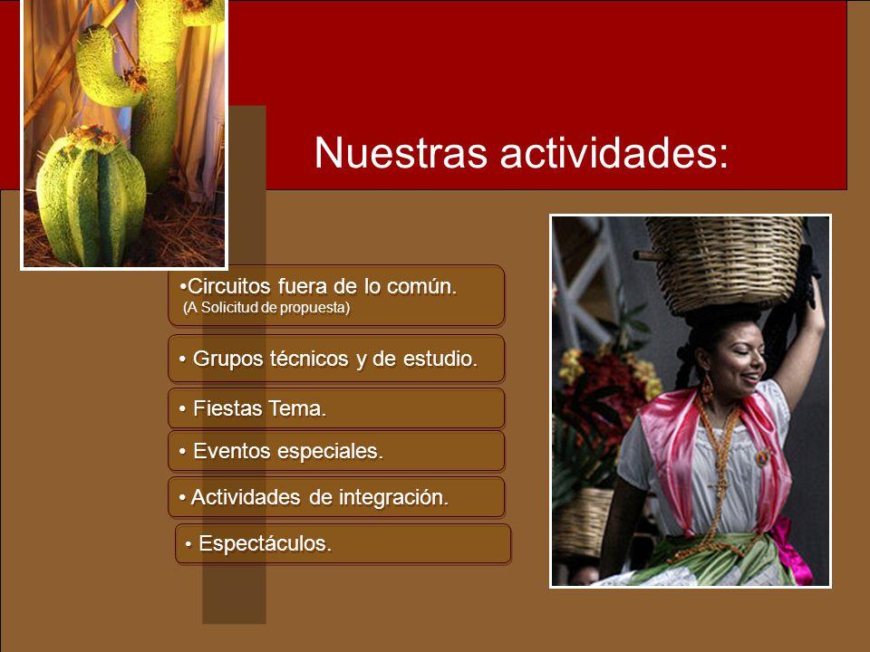 j Coordinación, organización y supervisión de EVENTOS especiales, en los más exclusivos recintos.