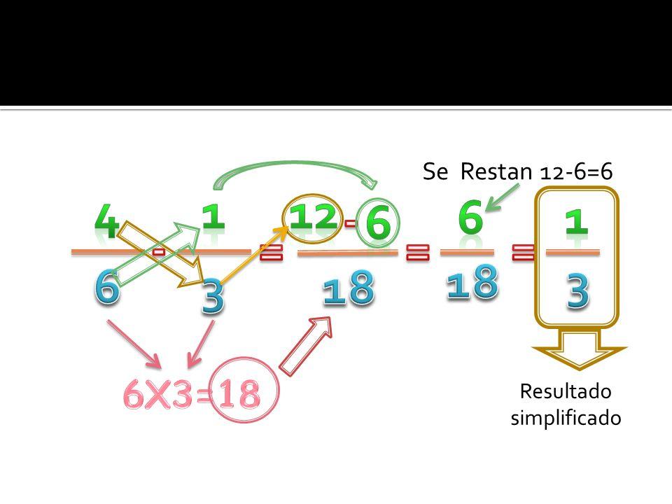  Una fracción de fracción es igual al producto de ambas fracciones.