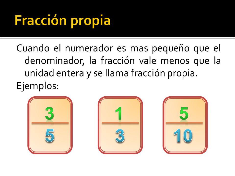 Es una fracción cuyo numerador y denominador son iguales, por lo que el resultado es igual a 1.