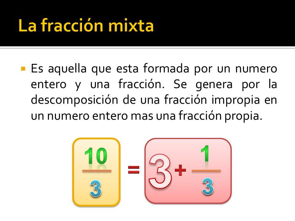  Son aquellas fracciones que tienen distinto numerador y denominador, pero valen lo mismo.