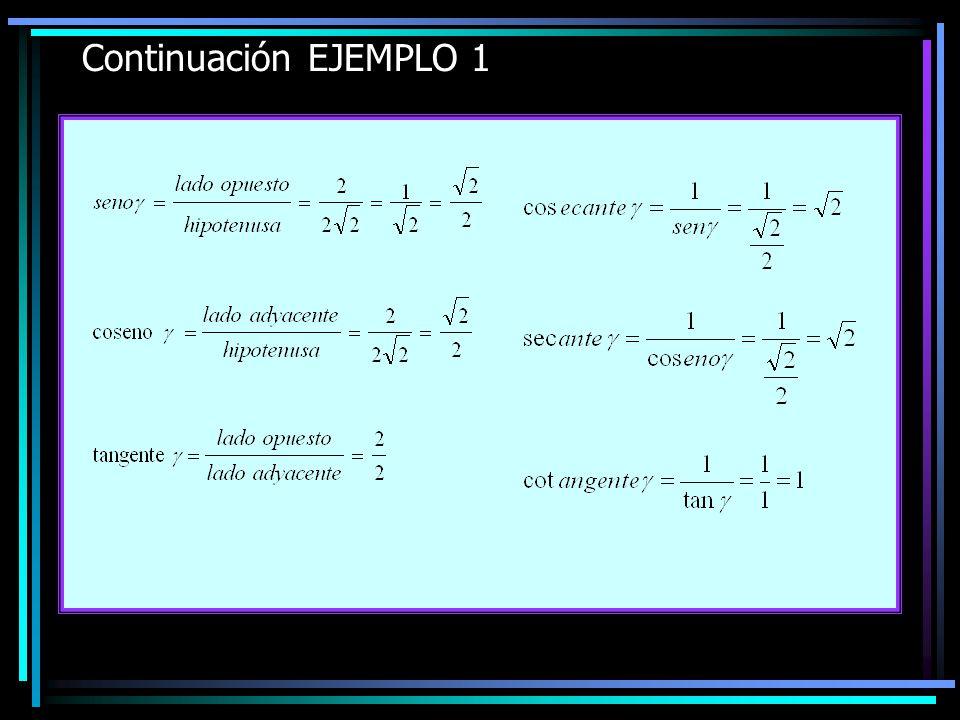 Continuación EJEMPLO 1