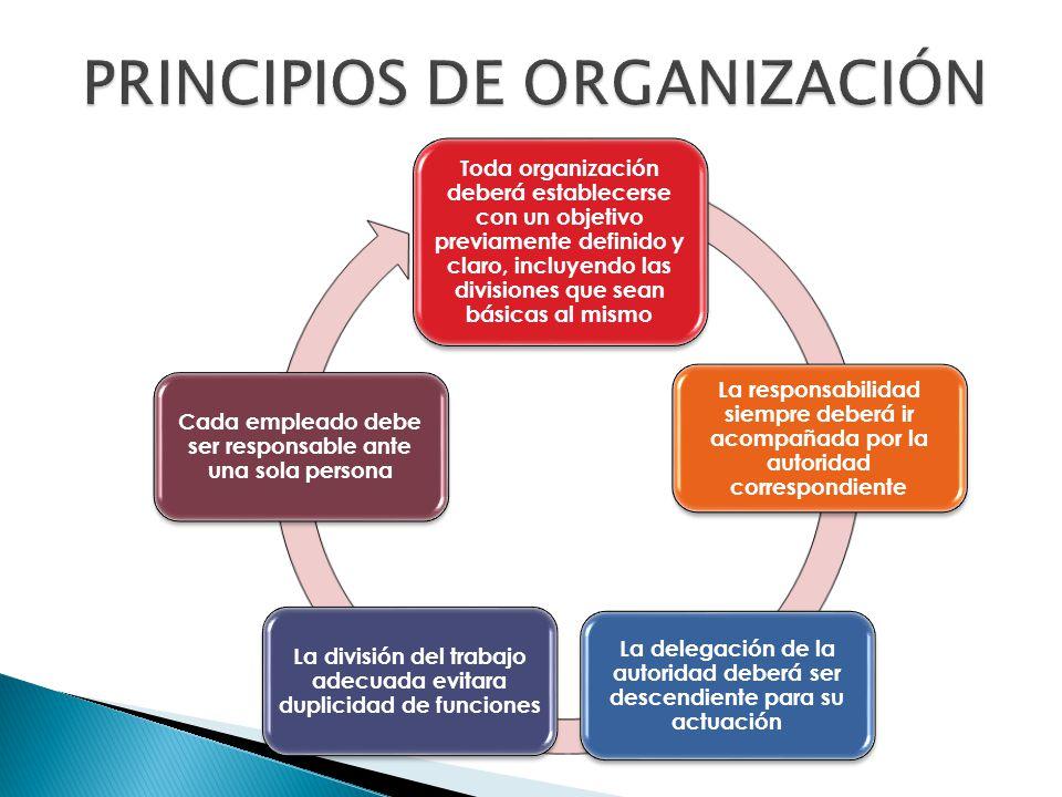  Es necesaria cierta cantidad de centralización para unificar e integrar las operaciones totales de la empresa  Ni la centralización ni la descentralización pueden ir solas siempre es necesario un equilibrio.