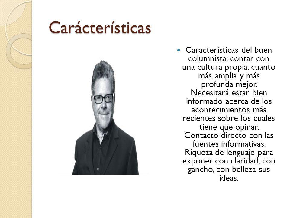 Carácterísticas Características de redacción: A) Brevedad y concisión.