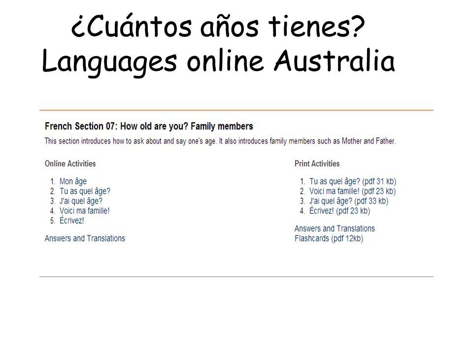 languages online spanish